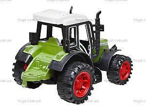Инерционная игрушка «Трактор» для детей, 4007, фото