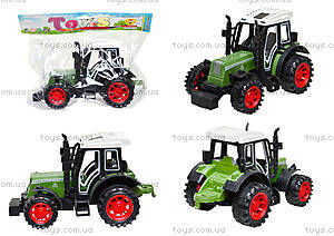 Инерционная игрушка «Трактор» для детей, 4007