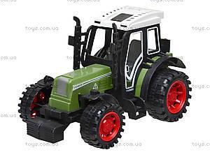 Инерционная игрушка «Трактор» для детей, 4007, отзывы
