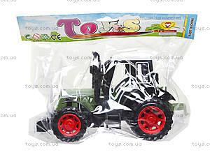 Инерционная игрушка «Трактор» для детей, 4007, цена