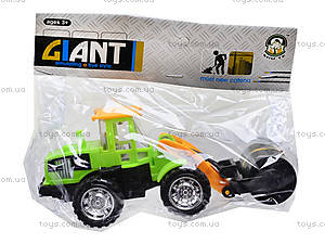 Игрушечный трактор с клещами, 635, фото