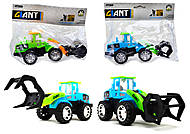 Игрушечный трактор с клещами, 635