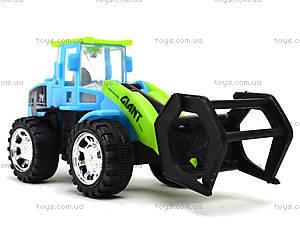 Игрушечный трактор с клещами, 635, цена