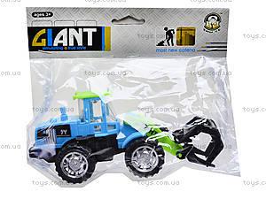 Игрушечный трактор с клещами, 635, игрушки