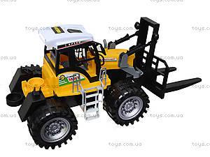 Инерционный пластиковый трактор, 666-73A, купить