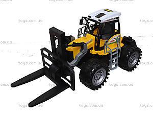 Инерционный пластиковый трактор, 666-73A, цена