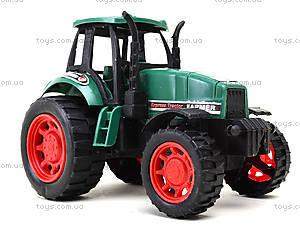 Детская инерционная игрушка «Трактор», 777-1, купить
