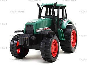 Детская инерционная игрушка «Трактор», 777-1, фото