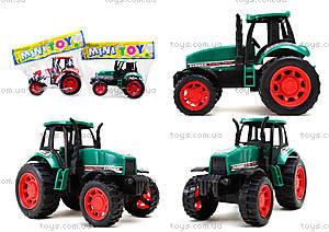 Детская инерционная игрушка «Трактор», 777-1