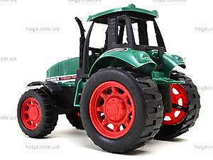 Детская инерционная игрушка «Трактор», 777-1, цена