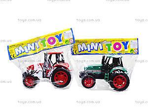 Детская инерционная игрушка «Трактор», 777-1, игрушки