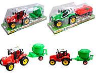 Фермерский инерционный трактор с прицепом, ABC1-B3B8B109, фото