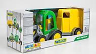 Трактор-багги с ковшом и прицепом , 39349, фото