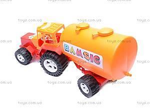 Трактор «Бамсик», с бочкой, 0073, купить