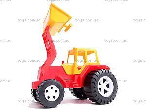 Трактор «Бамсик» с ковшом, 0071, купить