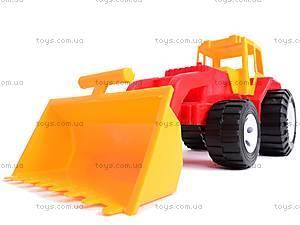 Трактор «Бамсик» с ковшом, 0071, фото