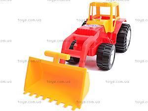 Трактор «Бамсик» с ковшом, 0071, цена