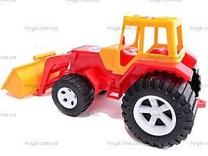 Трактор «Бамсик» с ковшом, 0071, детские игрушки