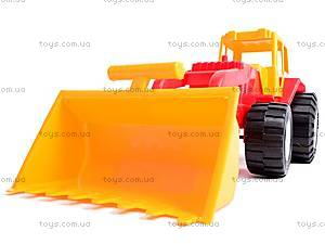 Трактор «Бамсик» с ковшом, 0071, магазин игрушек