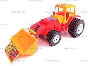 Трактор «Бамсик» с ковшом, 0071