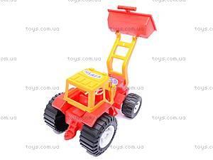 Трактор «Бамсик», с прицепом, 0072, купить