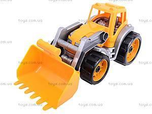 Трактор детский для игры, 1721, toys.com.ua