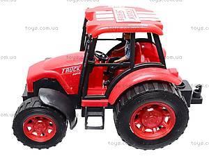 Трактор детский инерционный, L798-1, игрушки