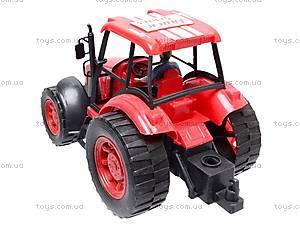 Трактор детский инерционный, L798-1, детские игрушки