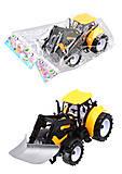 Игрушка «Трактор» инерционный, 3 вида, DS-20A, отзывы