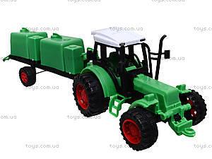 Игрушечный трактор с прицепом «Фермер», 618-5, купить
