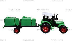 Игрушечный трактор с прицепом «Фермер», 618-5, отзывы