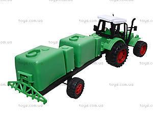Игрушечный трактор с прицепом «Фермер», 618-5, цена