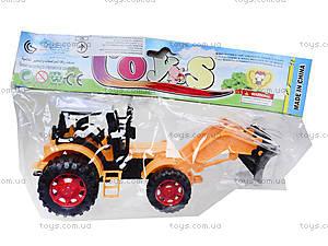 Игрушечный трактор «Фермер», 618-1, фото