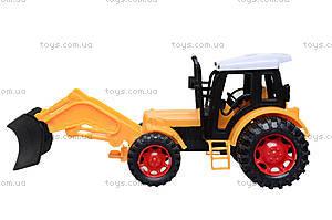 Игрушечный трактор «Фермер», 618-1, отзывы