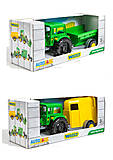 Трактор «Фермер» с прицепом зеленый, 39348, фото