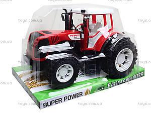 Детский игрушечный трактор «Фермер», 0488-200, отзывы