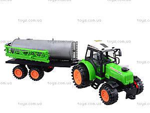 Инерционный трактор «Фермер» для детей, 666-56A, купить