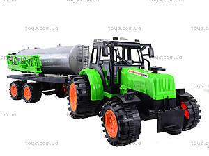Инерционный трактор «Фермер» для детей, 666-56A, отзывы