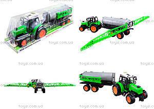 Инерционный трактор «Фермер» для детей, 666-56A