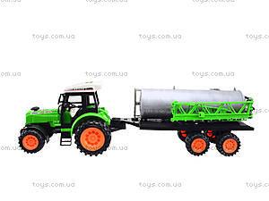 Инерционный трактор «Фермер» для детей, 666-56A, игрушки