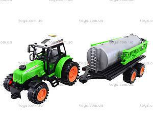 Инерционный трактор «Фермер» для детей, 666-56A, детские игрушки