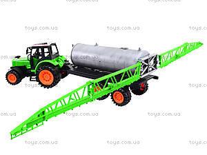 Инерционный трактор «Фермер» для детей, 666-56A, магазин игрушек