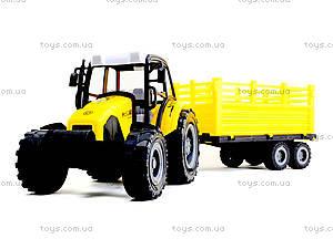 Инерционный трактор с прицепом «Фермер», 591-2, купить