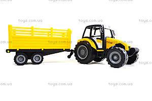 Инерционный трактор с прицепом «Фермер», 591-2, фото
