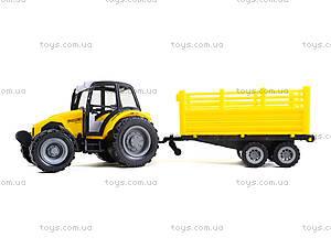 Инерционный трактор с прицепом «Фермер», 591-2, отзывы