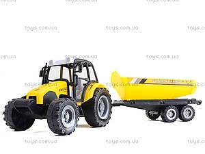 Инерционный трактор «Фермер» с прицепом, 591-3, купить