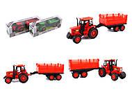 Трактор инерционный «Фермер», 8338-83, фото