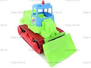 Трактор гусеничный, 07-706, игрушки