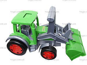 Большой игрушечный трактор «Гигант Фермер», 66015, фото