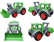 Большой игрушечный трактор «Гигант Фермер», 66015, отзывы